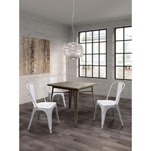 ZUO Olympia Gunmetal Dining Table by ZUO