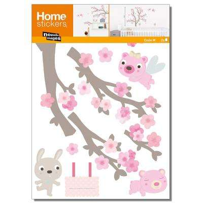 Multicolor Blooming Branch/Kids Home Sticker