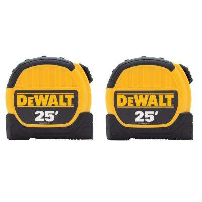 25 ft. Tape Measure (2-Pack)