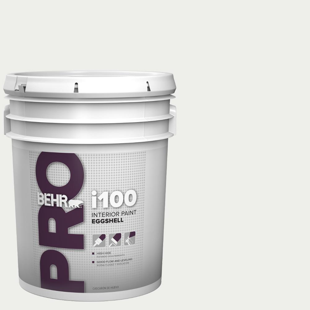 Behr pro 5 gal i100 toned base eggshell interior paint - Eggshell or semi gloss ...