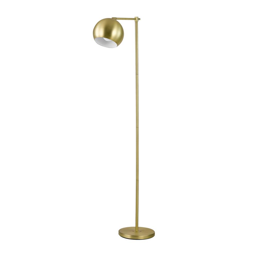 4f7d83a8a8 Globe Electric Molly 60 in. Gold Floor Lamp-12915 - The Home Depot