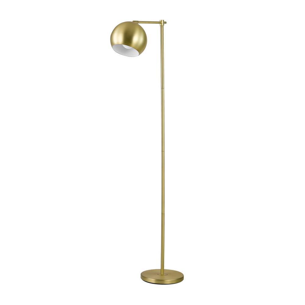 Molly 60 in. Gold Floor Lamp