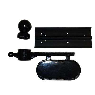 Aluminum Mailbox Kit, Black