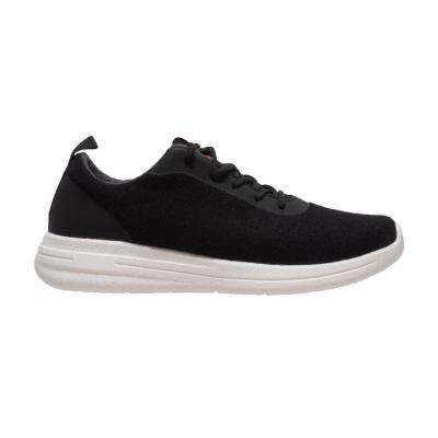 Men's Size 8 Black Wool Casual Shoes