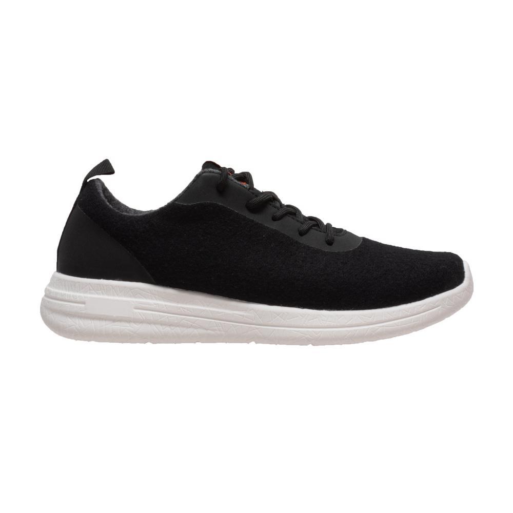 Women's Size 7.5 Black Wool Casual Shoes
