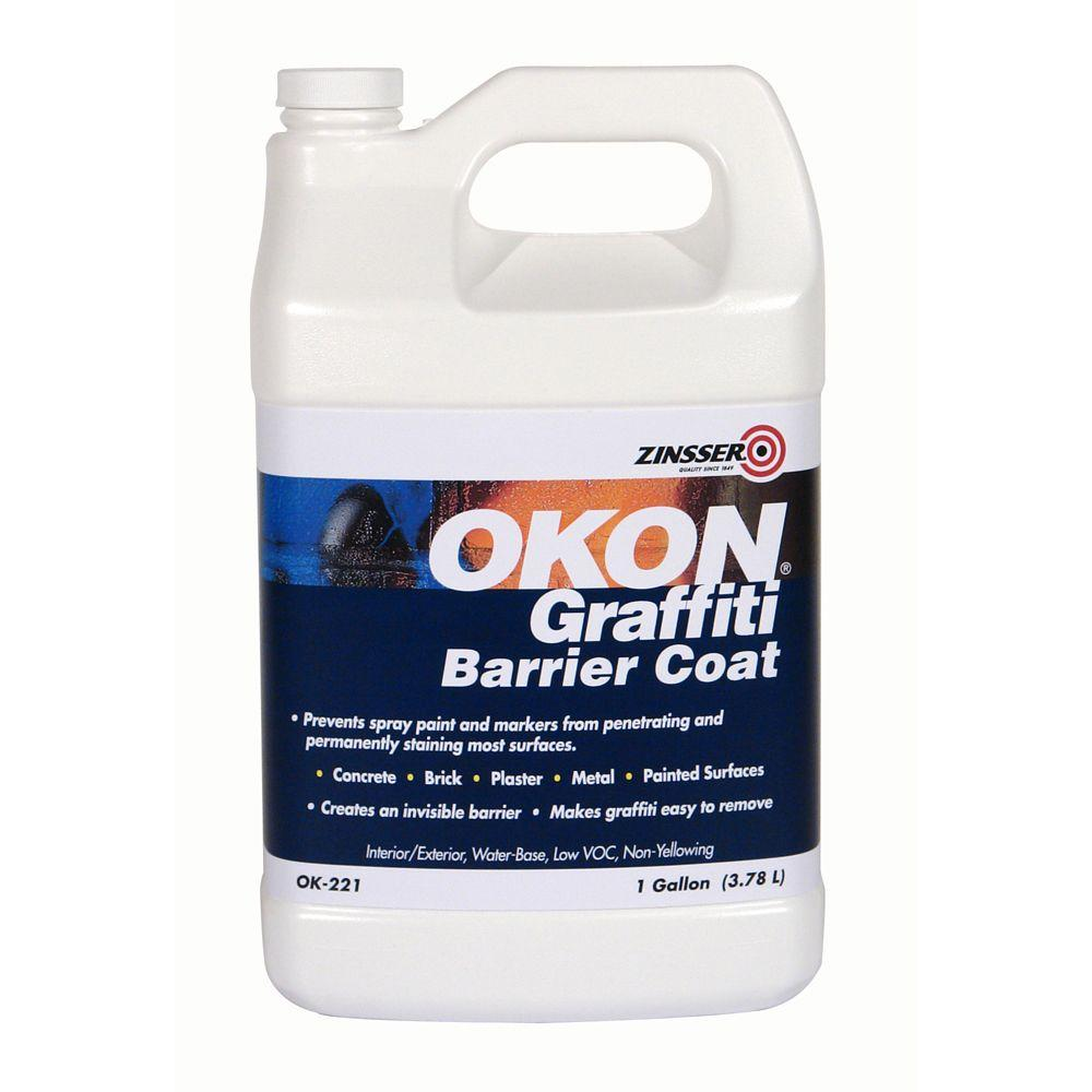 OKON 1-gal. Graffiti Barrier Coat for Sealed Surfaces-DISCONTINUED