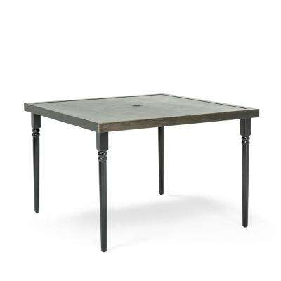 Addyson Square Aluminum Outdoor Dining Table