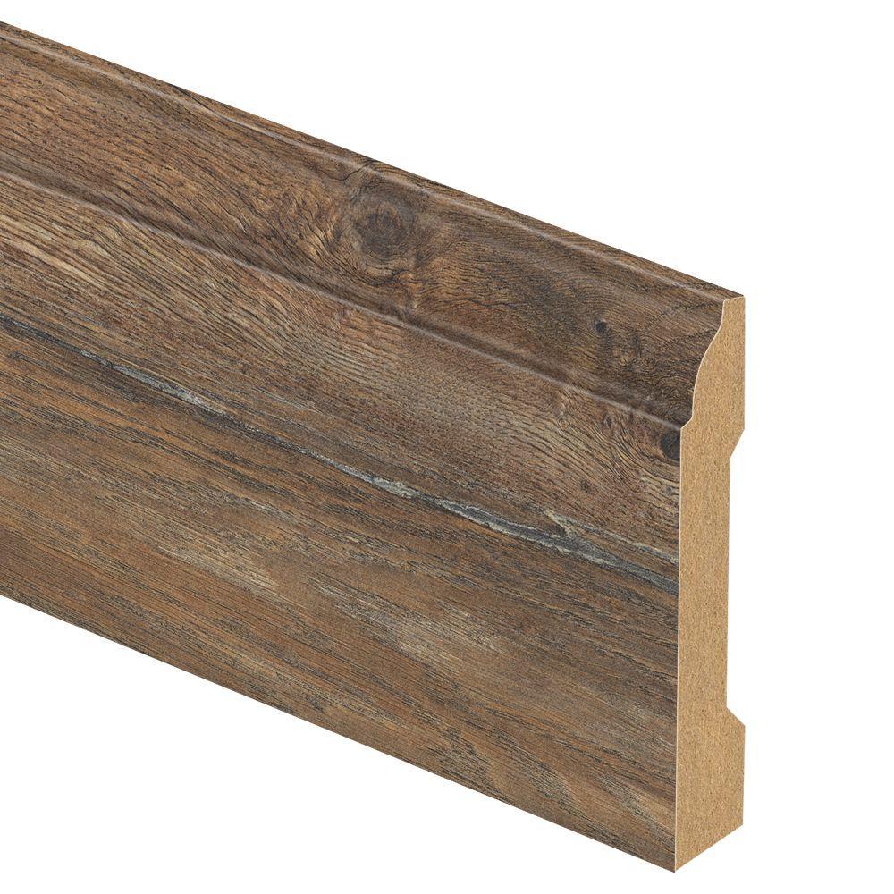Zamma Yorkhill Oak 9 16 In Thick X 3 1 4 In Wide X 94 In Length Laminate Wall Base