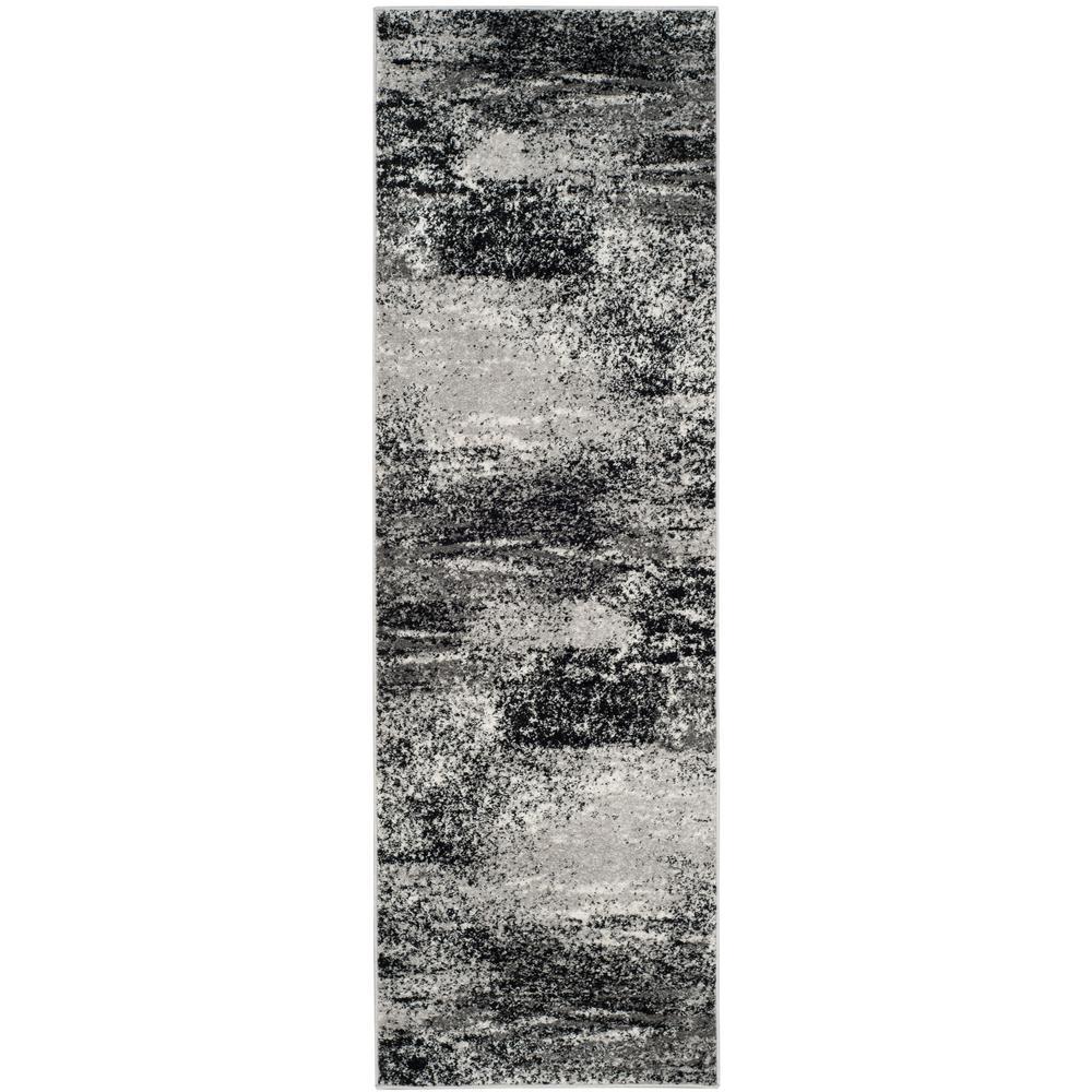 Adirondack Silver/Multi 3 ft. x 16 ft. Runner Rug