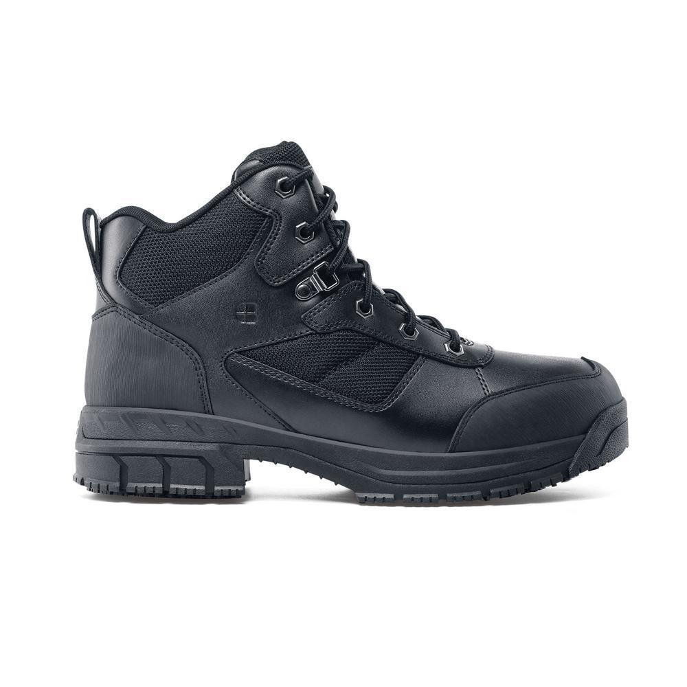 6c002d2ec1e2e4 Shoes For Crews. Voyager II ST Unisex Size 5M Black Leather Slip-Resistant  Steel Toe Work Boot