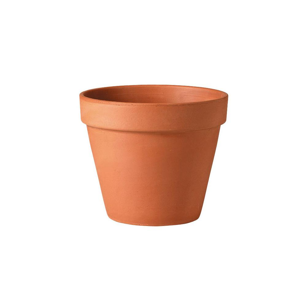Southern Patio 12 in. Clay Standard Pot