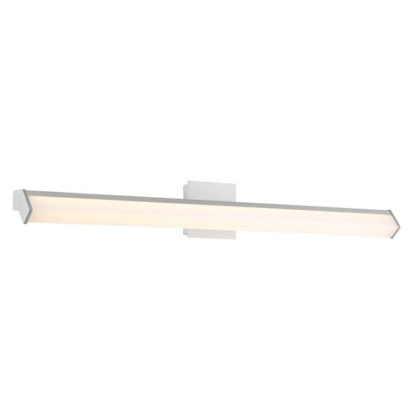 Arco Collection 16-Watt Chrome Integrated LED Sconce