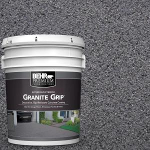 behr premium 5 gal gg 08 galaxy quartz decorative concrete floor