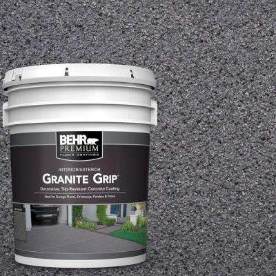5 Gal. #GG-08 Galaxy Quartz Decorative Flat Interior/Exterior Concrete Floor Coating