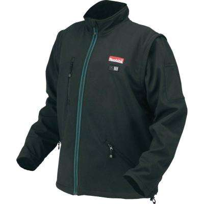 Men's Large Black 18-Volt LXT Lithium-Ion Cordless Heated Jacket (Jacket-Only)