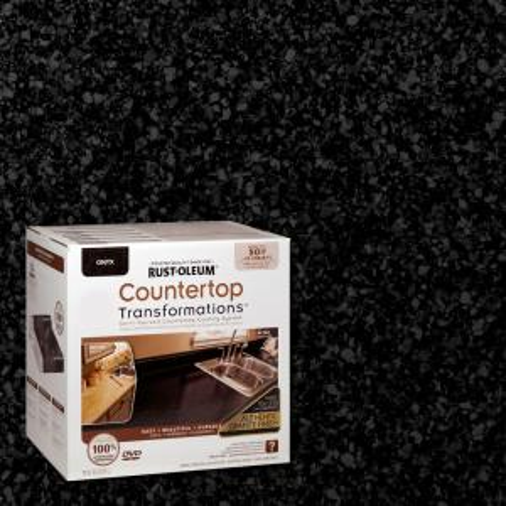 Rust Oleum Transformations 70 Oz Onyx Large Countertop