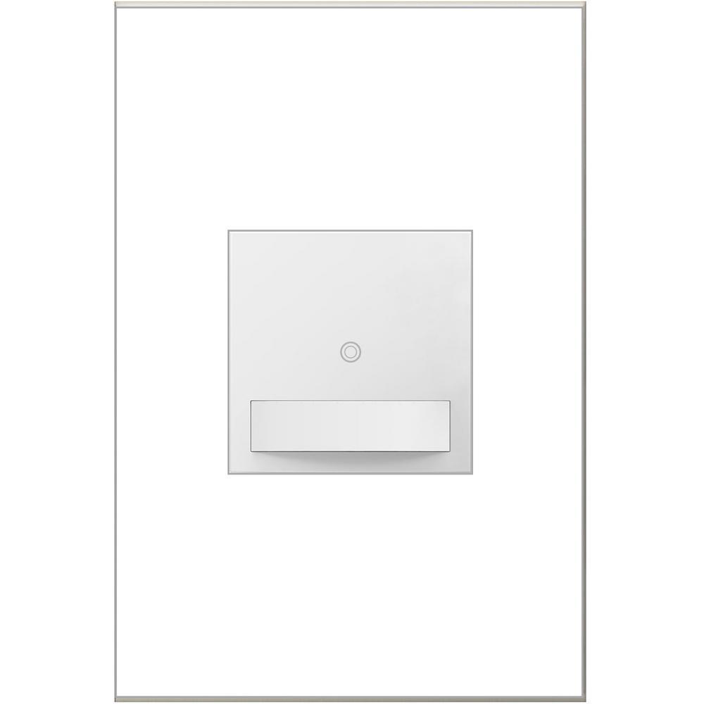 Legrand adorne 15 Amp Specialty Single Pole 3-Way Occupancy Sensor Switch, White