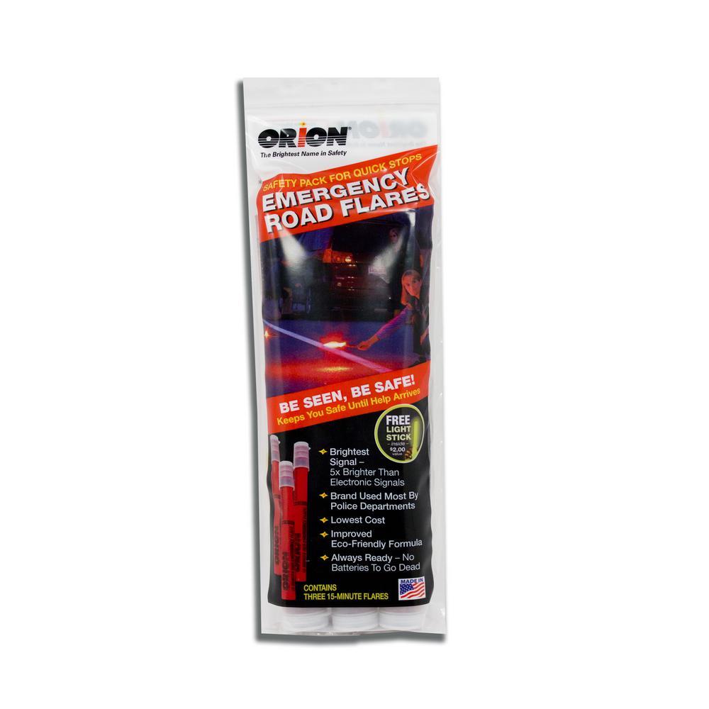 15-Minute Emergency Flares (3-Pack)
