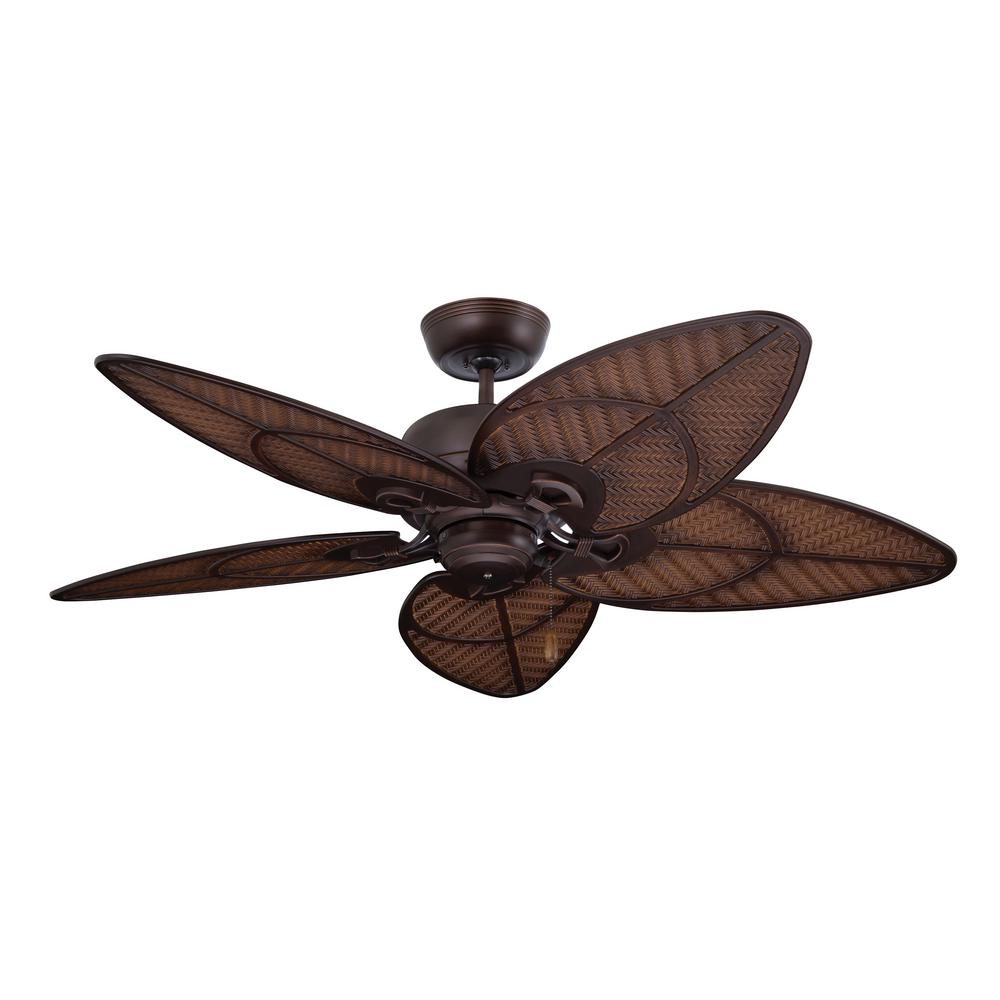 Batalie Breeze 52 in. Indoor / Outdoor Venetian Bronze Ceiling Fan