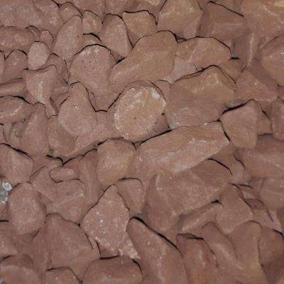 0.50 cu. ft. 40 lbs. 3/4 in. Dark Buff Landscaping Gravel (20-Bag Pallet)