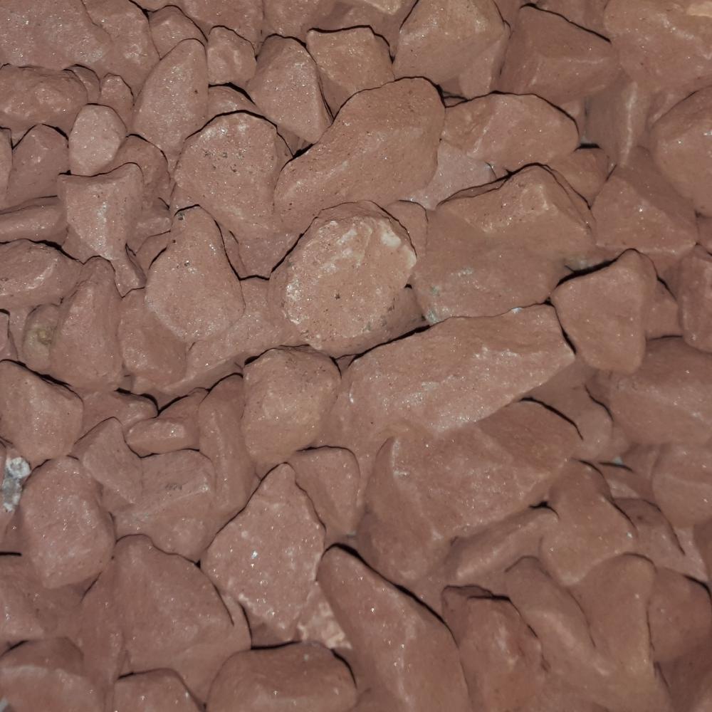 3/4 in. Dark Buff Landscaping Gravel (500 lbs. Mini Sack)