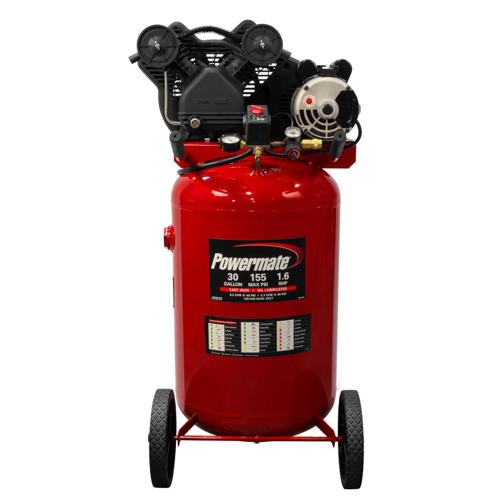 Powermate 30 Gal. Portable Electric Air Compressor