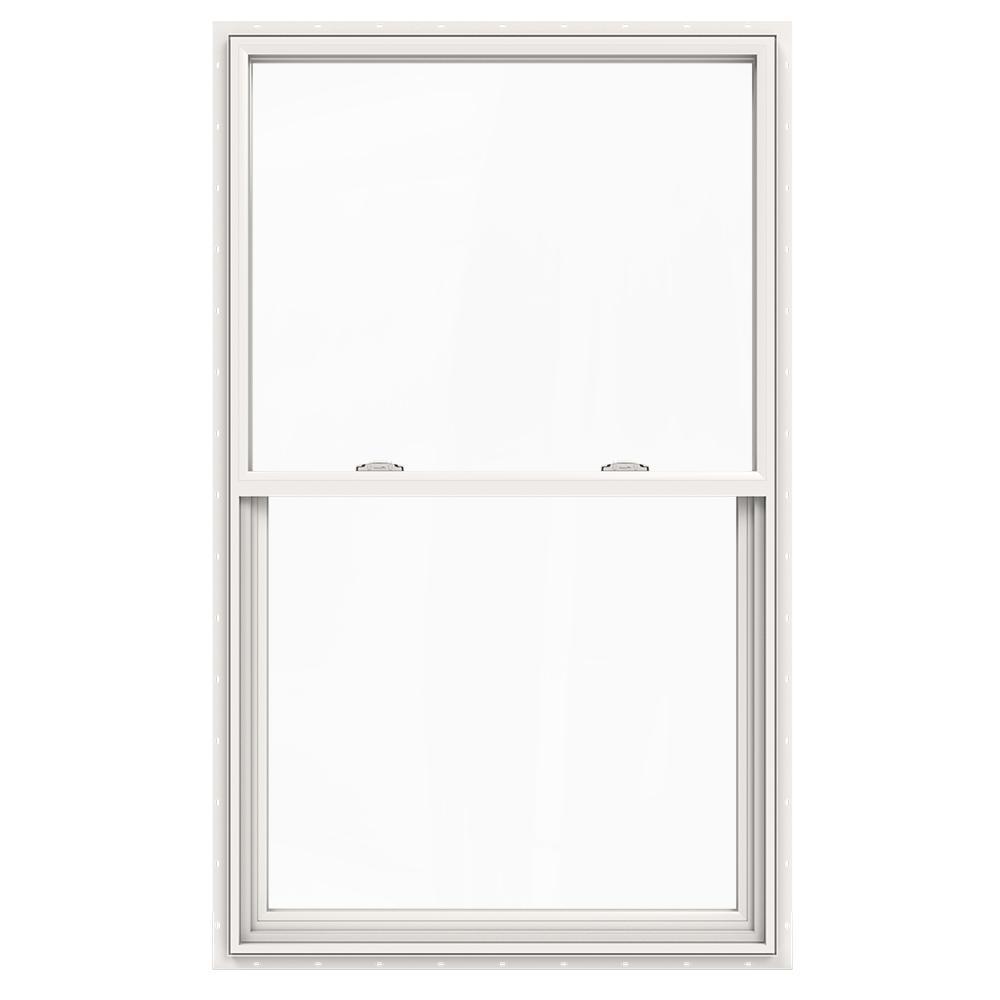 JELD-WEN 36 in. x 60 in. V-2500 Series Single Hung Vinyl Window - White