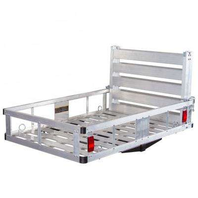 500 lbs. Aluminum Basket Hitch Cargo Carrier and Ramp
