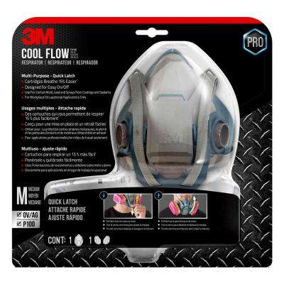 Pro Medium Multi-Purpose Respirator with Quick Latch
