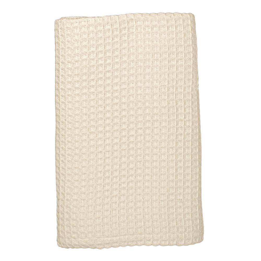 The Company Store Organic Natural Cotton King Knitted Blanket was $168.99 now $84.97 (50.0% off)