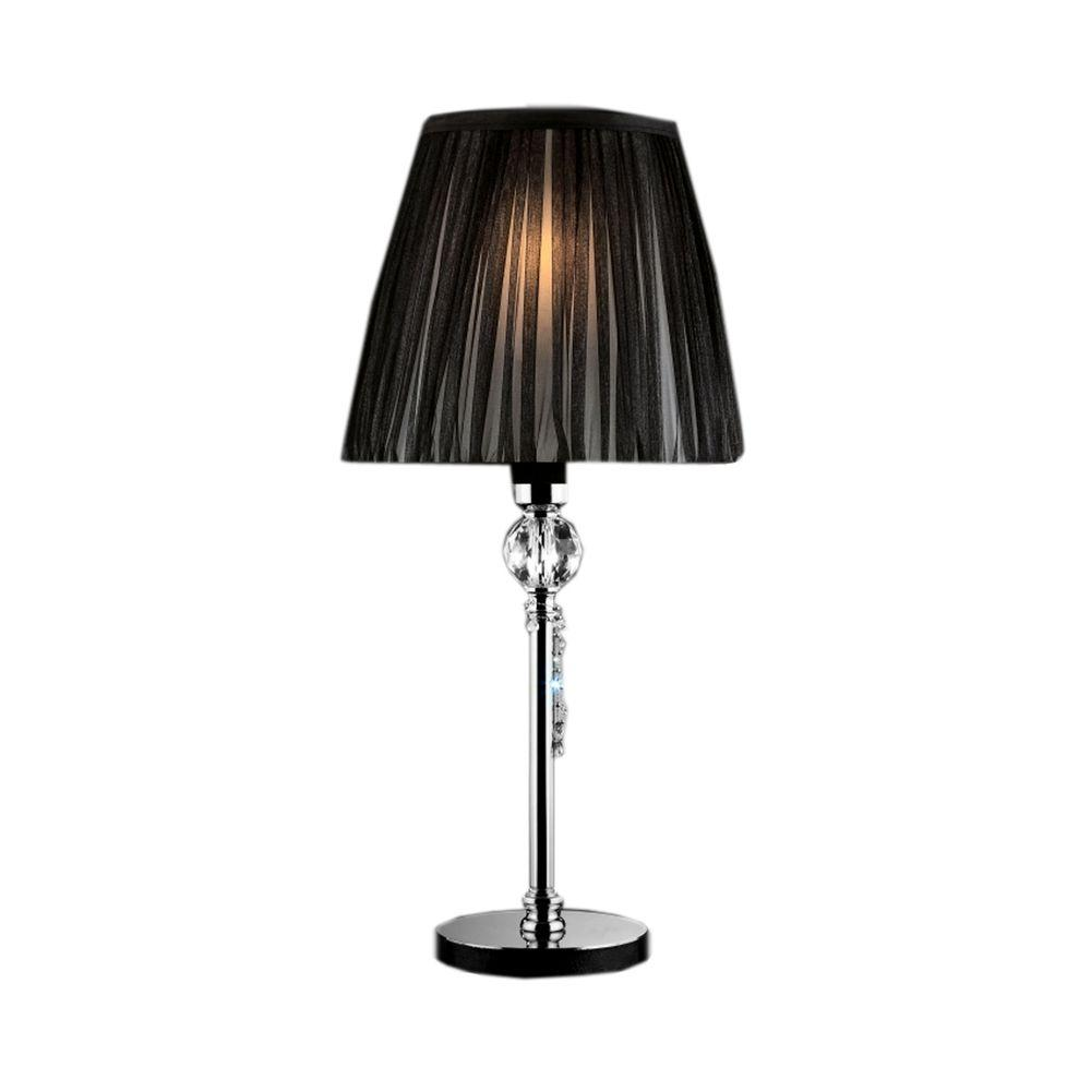 Ore International 24 In Silver Touch On Table Lamp 8310sn