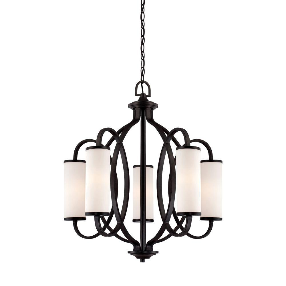 Designers Fountain Bellemeade 5 Light Interior Incandescent Chandelier