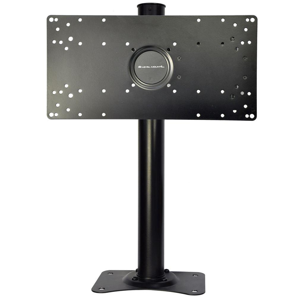 Level Mount Hotel Desktop Fits For 10 40 In Tvs Eldm The Delightful Dual Monitor Desk Stand
