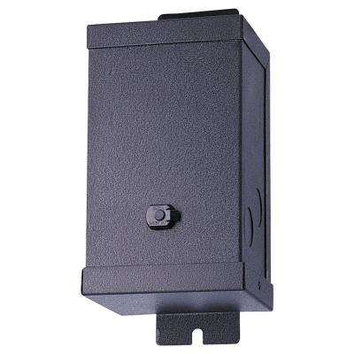 300-Watt 12-Volt Single Output Black Magnetic Transformer