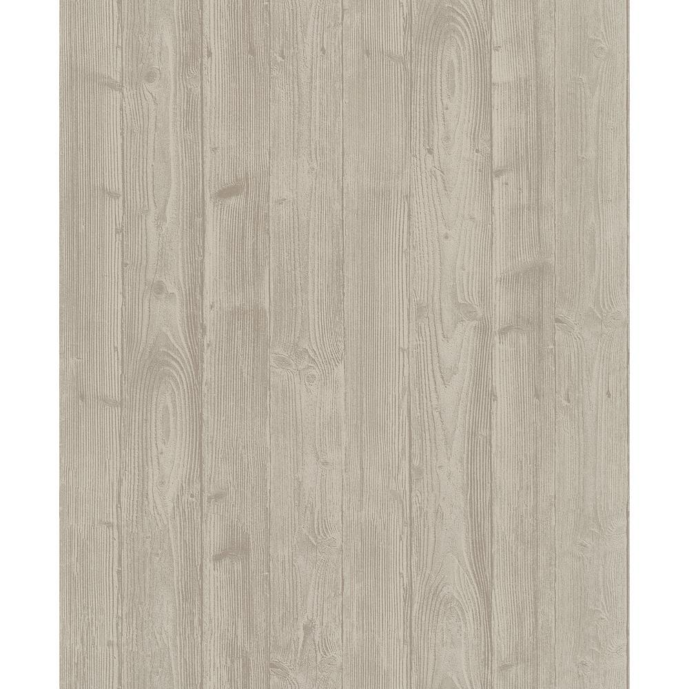 8 in. x 10 in. Talbot Beige Wood Wallpaper Sample