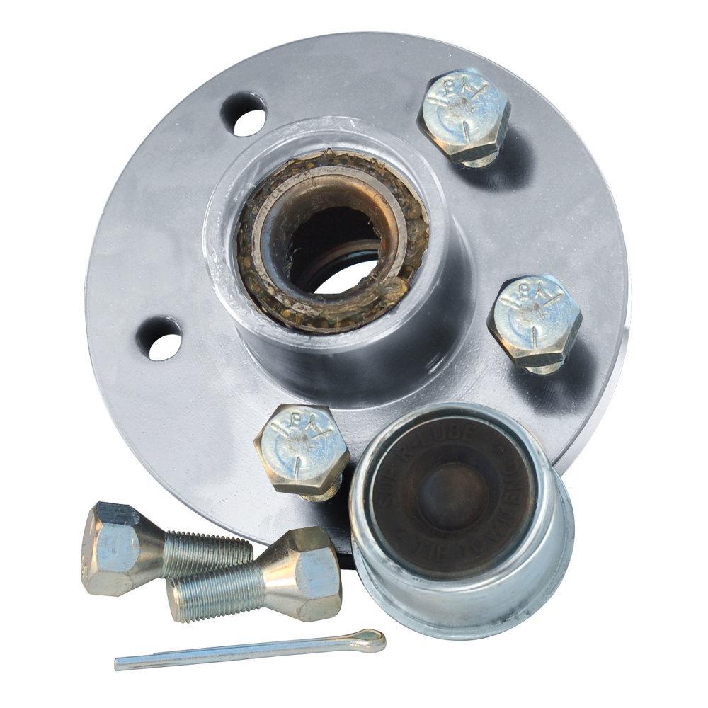 1-1//16 Inner//Outer Bearing 4 Stud 1350 lbs. Tie Down Engineering 81020 Super Lube Hub Kit
