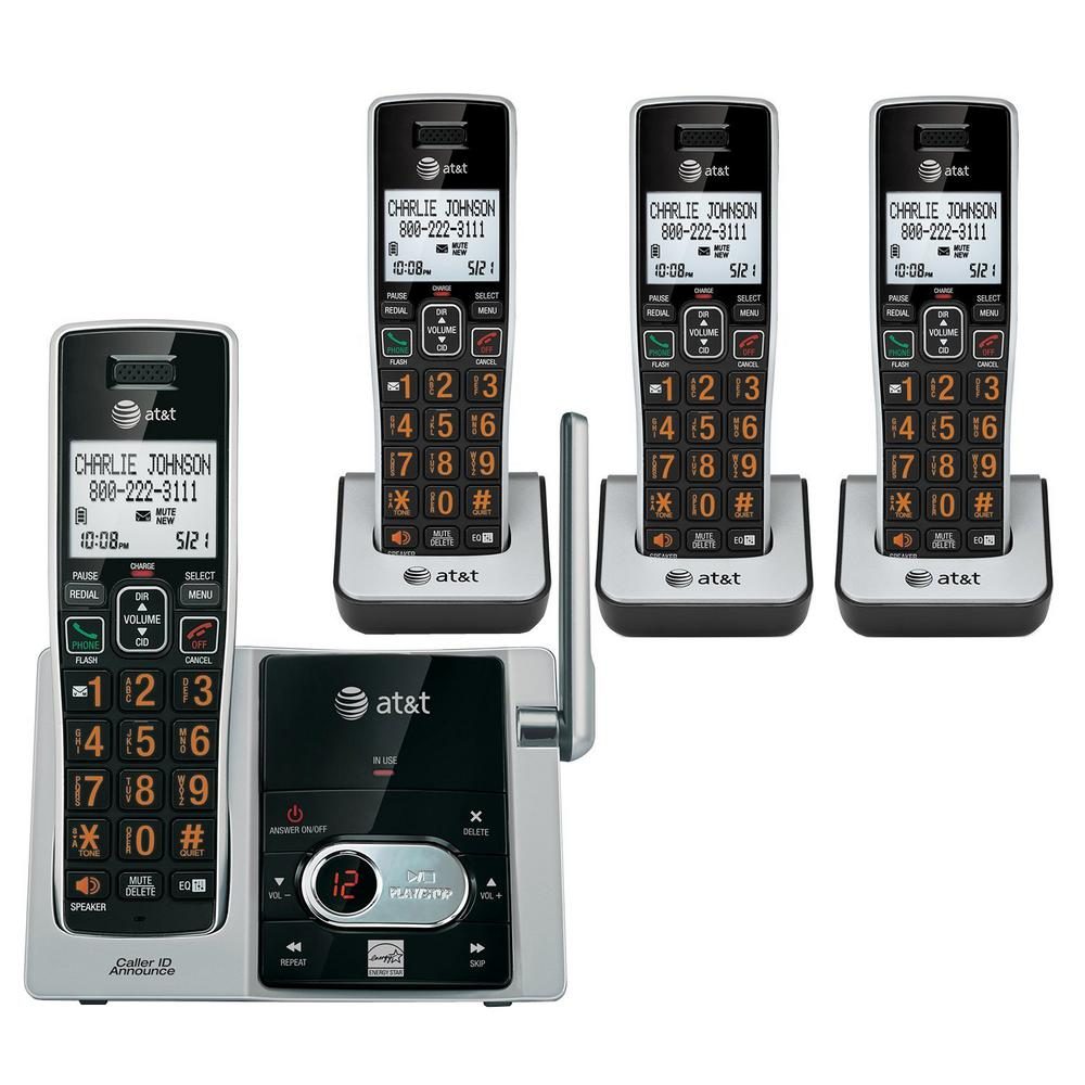 4-Handset Cordless Answering System with Caller ID/Call Waiting
