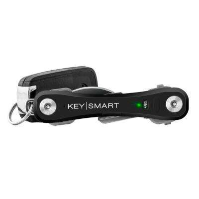 Pro Compact Key Holder with Tile Smart Location in Black (Up to 10 Keys)