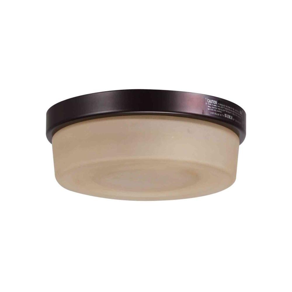 Hampton Bay Bryant Oiled Bronze Ceiling Fan Light Kit