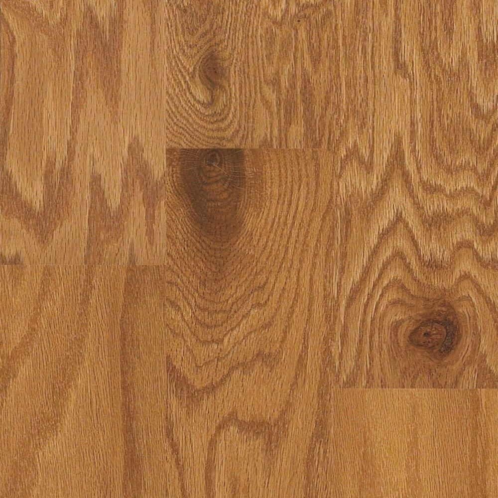 Shaw Take Home Sample - Macon Old Gold Oak Engineered Hardwood Flooring - 5 in. x 7 in.