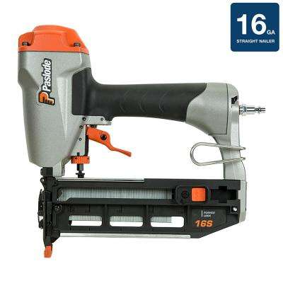 Pneumatic 16-Gauge Straight Finish Nailer