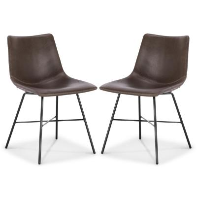 Brown Paxton Dining Chair (Set of 2)
