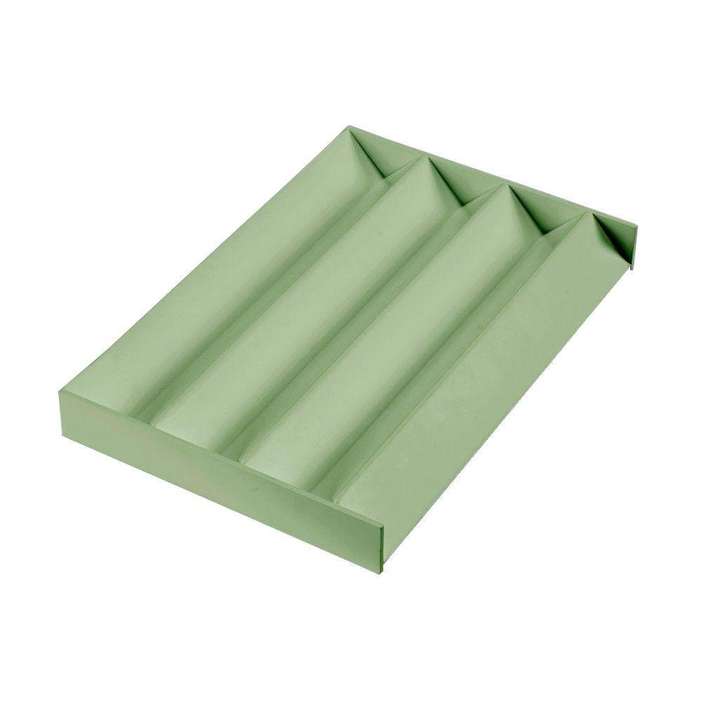 Martha Stewart Living Craft Space Zigzag Drawer Insert Rhododndrn Leaf Green