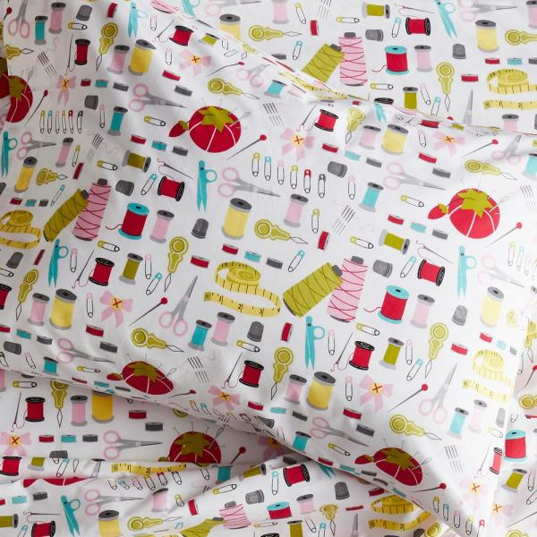 Company Kids by The Company Store Sew Right 200-Thread Count Organic