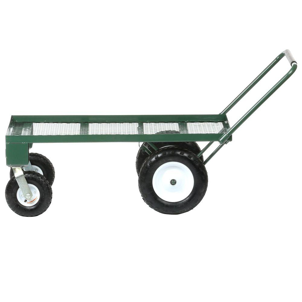 Sandusky 5 Cu Ft 24 In W Utility Cart Fw4824 The Home