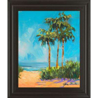 """22 in. x 26 in. """"Solitude I"""" by Jane Slivka Framed Printed Wall Art"""