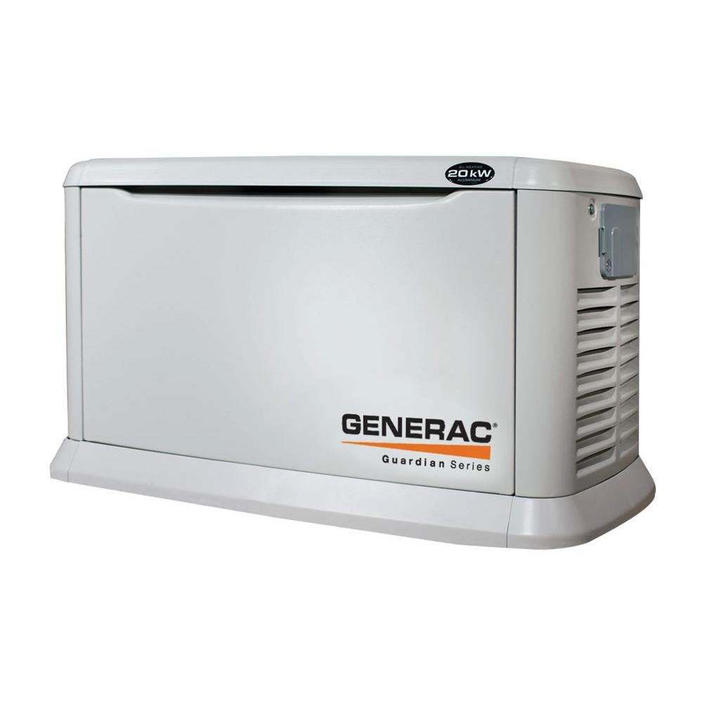 Generac 20,000-Watt Air Cooled Automatic Standby Generator-DISCONTINUED