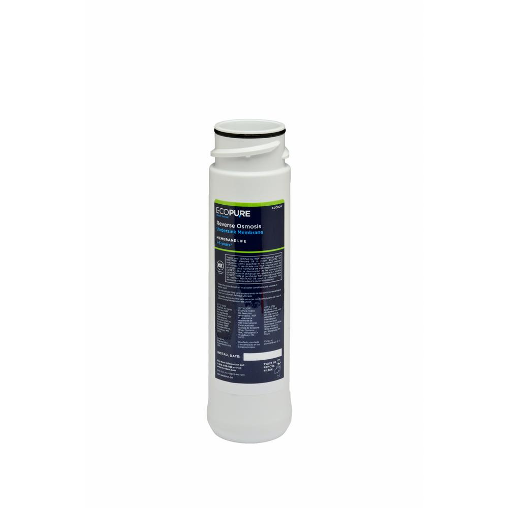 Replacement Water Filter Membrane (Fits ECOP30 Reverse Osmosis System)