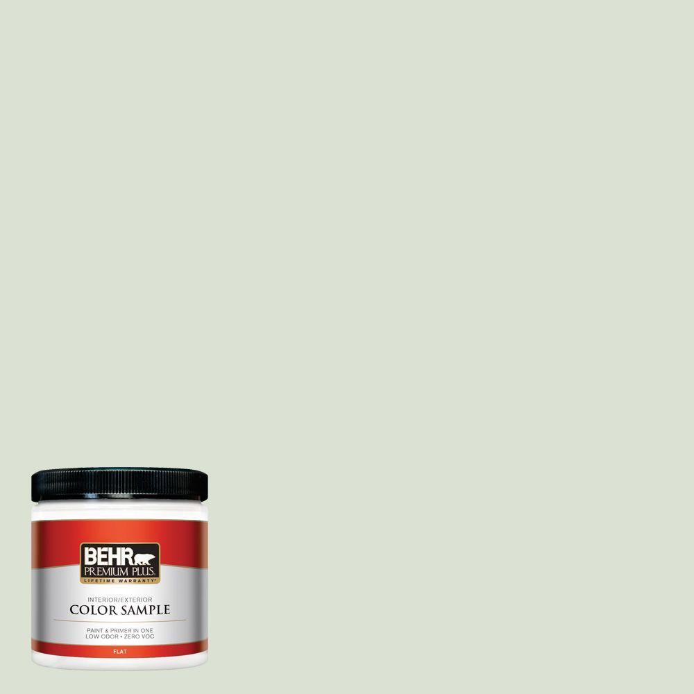BEHR Premium Plus 8 oz. #430E-2 Mystical Sea Interior/Exterior Paint Sample