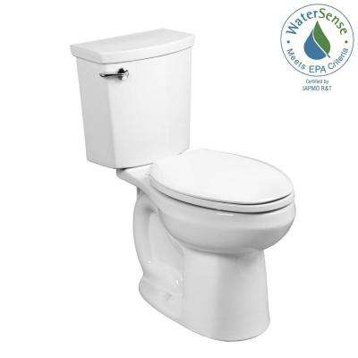 H2Optimum 2-piece 1.1 GPF Single Flush Elongated Toilet in White